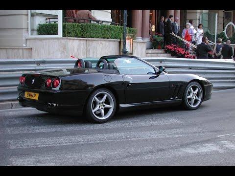 Monaco 2002 Ferrari 550 Spider