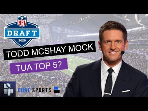 Todd McShay's Latest Mock Draft: Reacting To All 32 Round 1 Selections