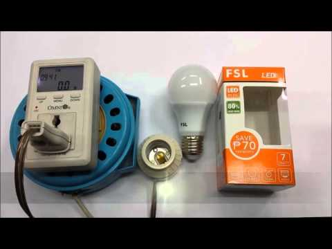 FSL Energy Saving LED Bulbs (3,5,7 Watts)