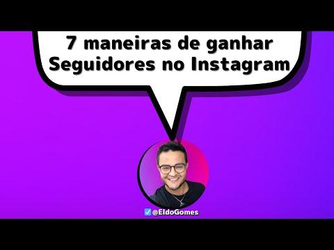 Como ganhar seguidores no Instagram e crescer com seguidores reais no Instagram, dicas de instagram
