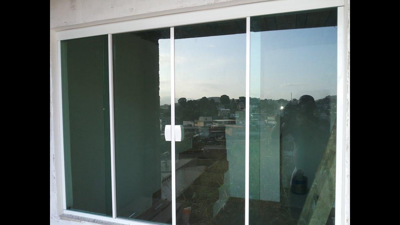 Blindex No Quarto ~ Como colocar janela de blindex YouTube