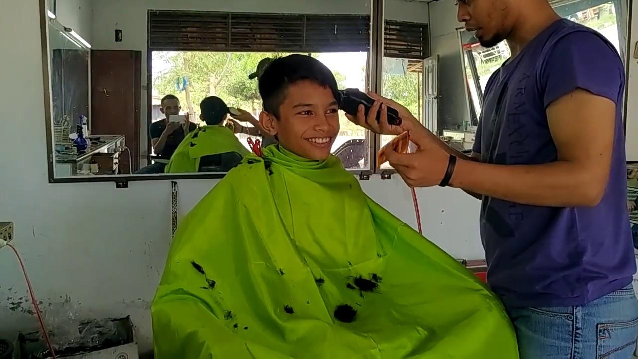 Undercut and haircut style/Cara potong rambut pria simpel ...