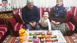 KEK CHALLENGE!!!Yusuf Anneannesi ve Dedesiyle Kek Challenge yaptı, Eğlenceli çocuk videosu