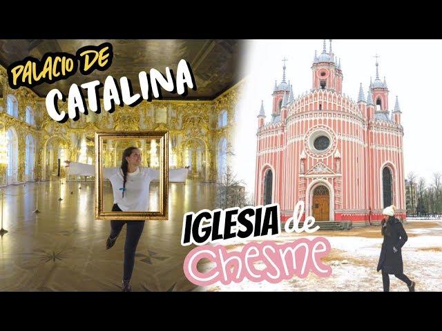 Palacio de Catalina la Grande 👉 San Petersburgo Rusia
