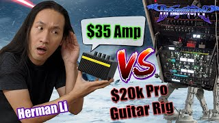 Can Rockstars Play a $35 Practice Amp? Herman Li DragonForce Gear Challenge