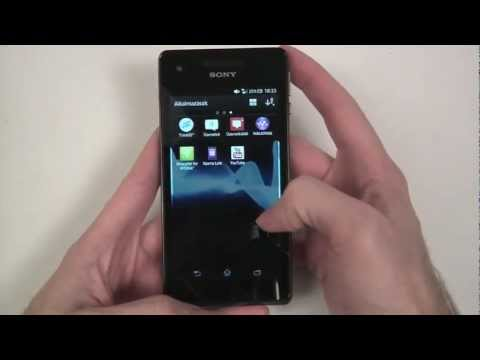 Sony Xperia V unboxing and review