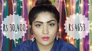 Half Face High End | Half Face Drugstore | Makeup Dupes