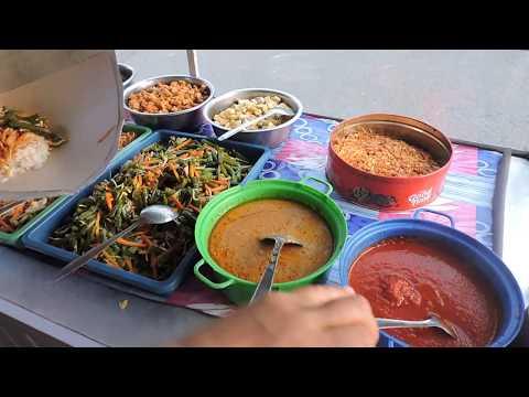 Indonesia Brebes Street Food : Murahnya Nasi Campur Pinggir Jalan Setia Budi//098//Seri I