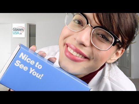ASMR   Relaxing Optical Exam & Eyewear Consultation