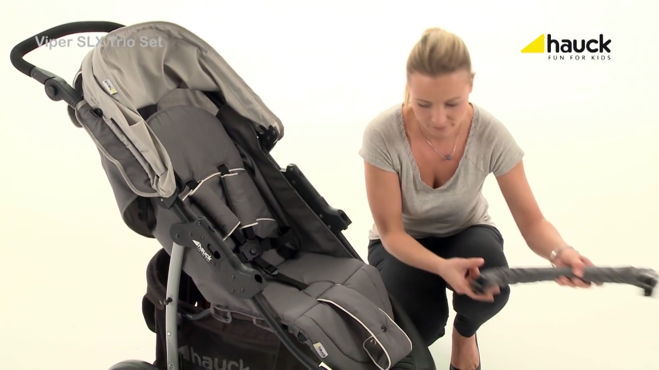 Hauck Shopper Slx Travel System Youtube Hauck Viper Slx Trio Set 3in1 Travel System