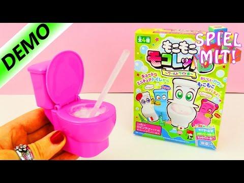 nina-trinkt-aus-dem-klo-|-japanische-toilet-candy-|-brausepulver-aus-toilette-trinken