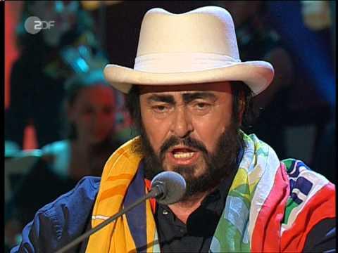 Luciano Pavarotti - Il canto - Bei Wetten Dass.mpg