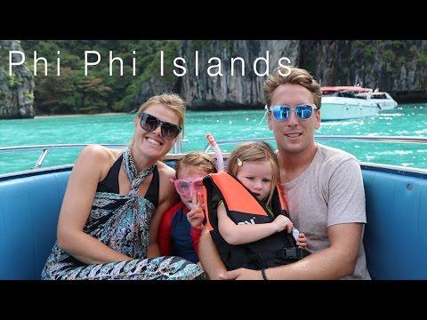 PHI PHI ISLANDS IN THAILAND : FAMILY SNORKELLING FUN !!    // Week 9