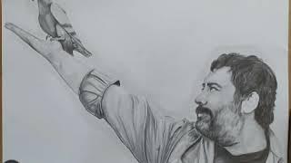 Ahmet Kaya karakalem çizimi