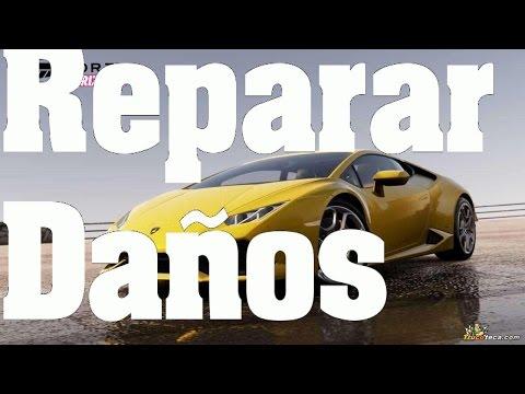 Trucos Forza Horizon 2 reparar coche, claves y consejos.