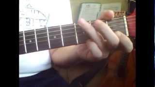 Сгорая плачут свечи  Лунная соната  Аккорды на гитаре