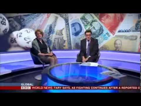 Localgiving.com founder talks about the joy of giving on BBC World News 2013
