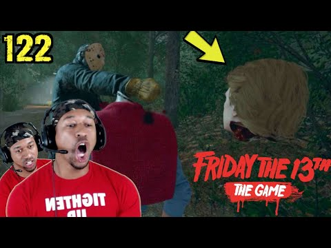 1v1 ENDING IN RAGE!!! Friday The 13th Gameplay #122