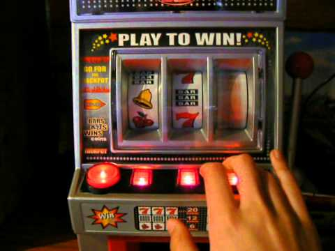 The mini slot machine las vegas - YouTube