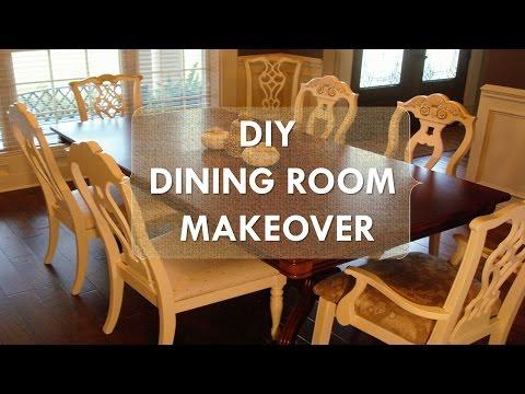 DIY Dining Room Makeover