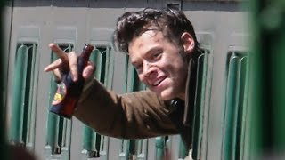 Harry Styles Shows Battle Wounds In NEW 'Dunkirk' Photos