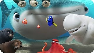 Disney Pixars FINDING DORY New Promo Clips (2016) thumbnail