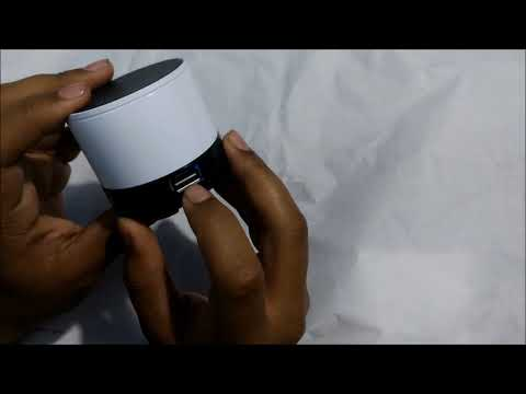 MUSIC MINI BLUETOOTH SPEAKER - UNBOXING & REVIEW