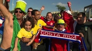 World Cup draw leaves Costa Rica top, England last