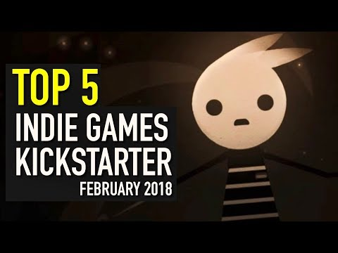 Top 5 Indie Games on Kickstarter - February 2018