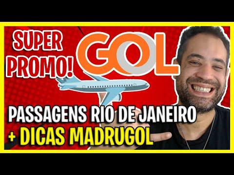 ALERTA MADRUGOL + PASSAGENS AÉREAS BARATAS GOL RIO GALEÃO!
