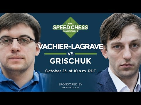 Speed Chess Championship: Maxime Vachier-Lagrave vs Alexander Grischuk