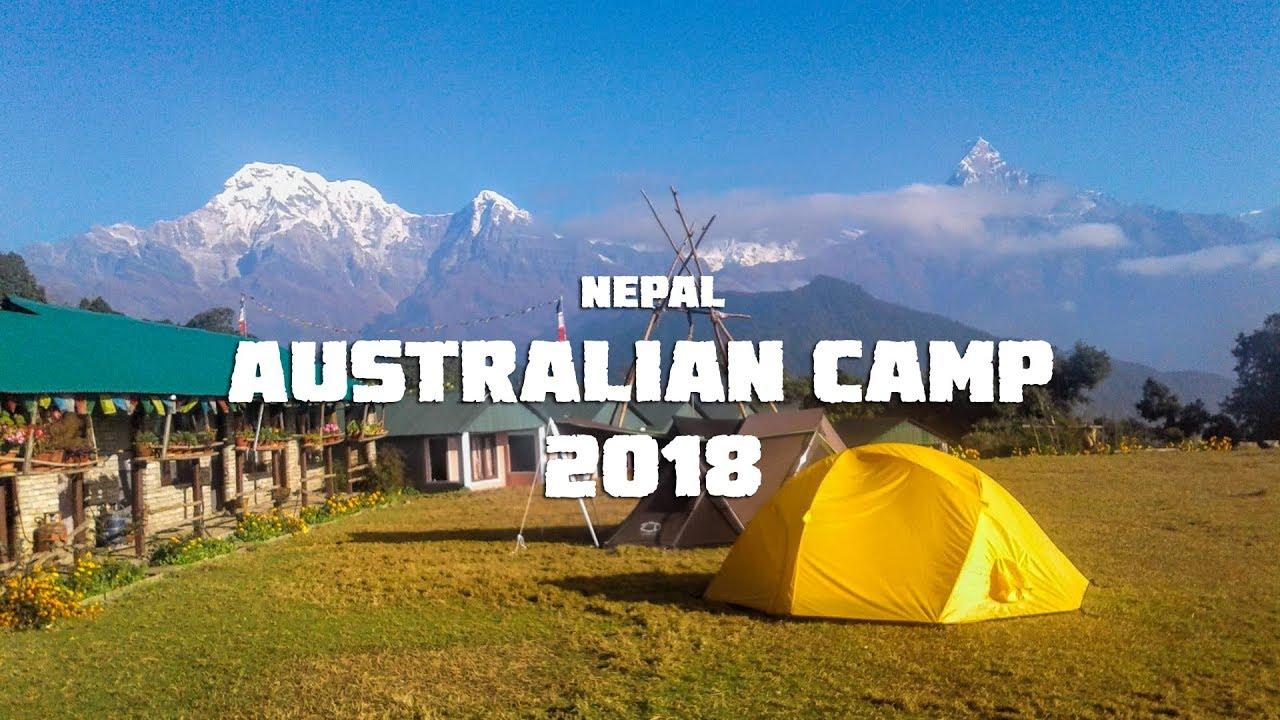 Australian Camp .Pokhara, cung treck khá nhẹ nhàng. Rất tuyệt