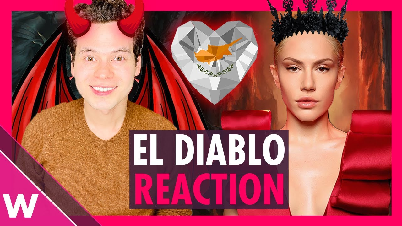 El Diablo - Elena Tsagrinou Reaction | Cyprus Eurovision 2021 - YouTube