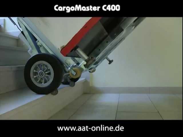 """CargoMaster C400 """"Transport eines Getraenkeautomaten"""""""