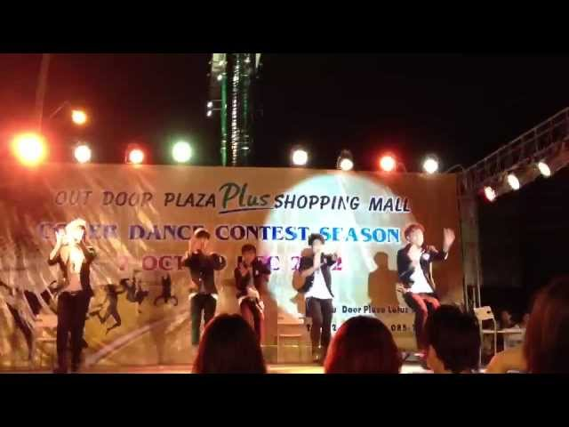 121028 Uncensor Cover NU'EST @ Outdoor Plaza - Let's Go ,Not over you,face (Audition) Travel Video