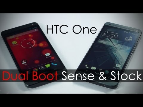 Switch Between HTC One Google Play & Sense editions /w Apps & Data Share - MoDaCo Switch (Demo)