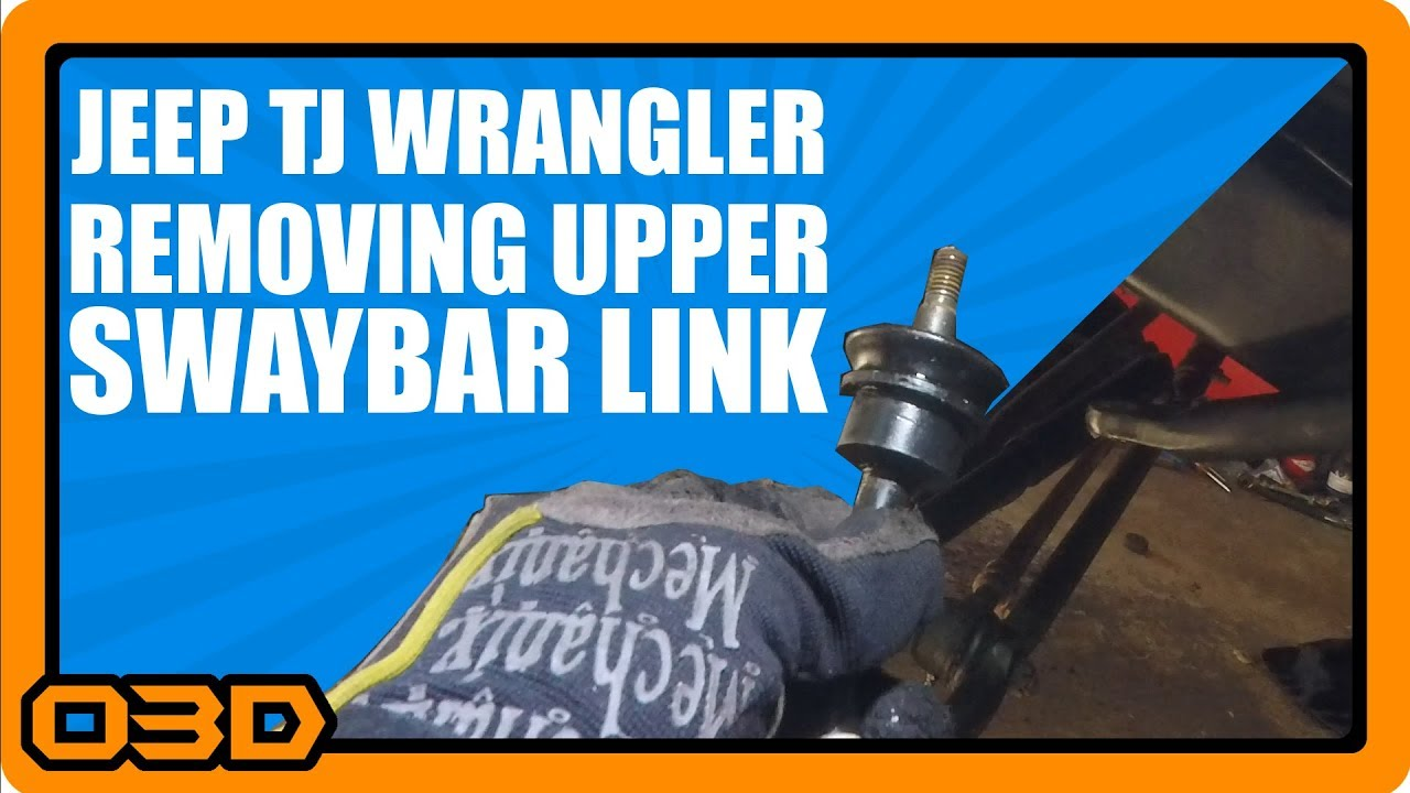 Front Sway Bar Link Removal Project 2004 Jeep Tj Wrangler Tip Jeeptjsuspensiondiagram 19972006 A New How To