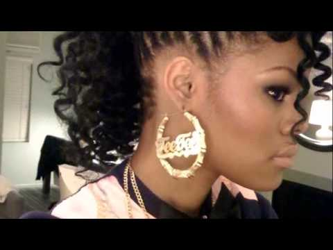 Black Hair Mohawk Styles Youtube