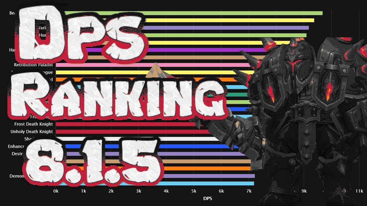 WOW | 8 1 5 | DPS RANKING RAID & DUNGEONS | BROKKEN