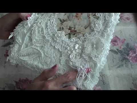 Fabric Lace Book Box