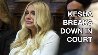 Kesha Suing Dr Luke: Breaks Down, Cries in Court After Ruling, #FreeKesha, Fans Support Her