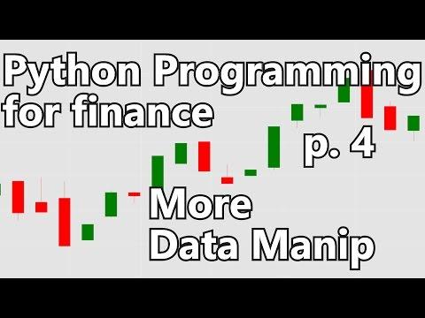 Python Programming for Finance - YouTube