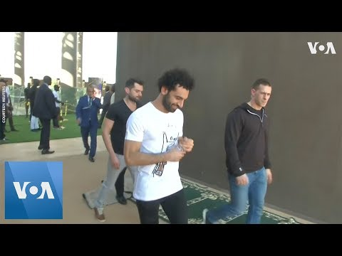 Mo Salah and Sadio Mane in Senegal for African Footballer of