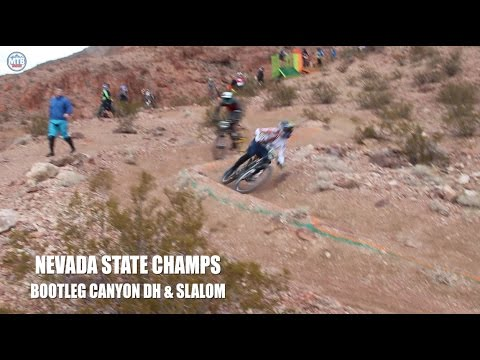 Bootleg Canyon Slalom Finals & DH Footy - Nevada State Champs
