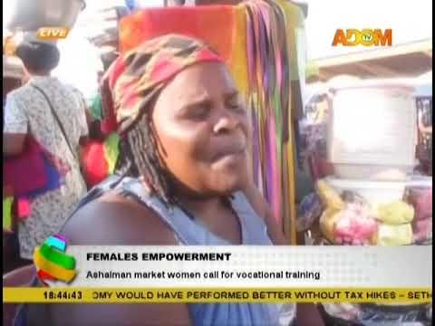 Females Empowerment - Adom TV News (27-11-18)