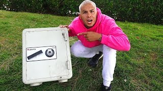 FOUND ABANDONED SAFE! (WHAT