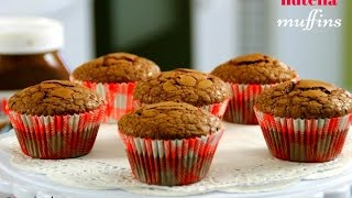 Nutella Muffins - 5 Ingredients