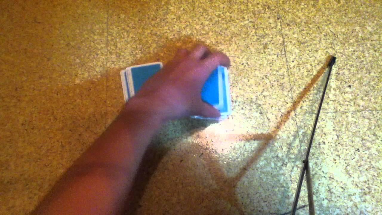 Kartentrick 4 Karten