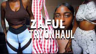 ZAFUL TRY ON HAUL | Maryjane Byarm