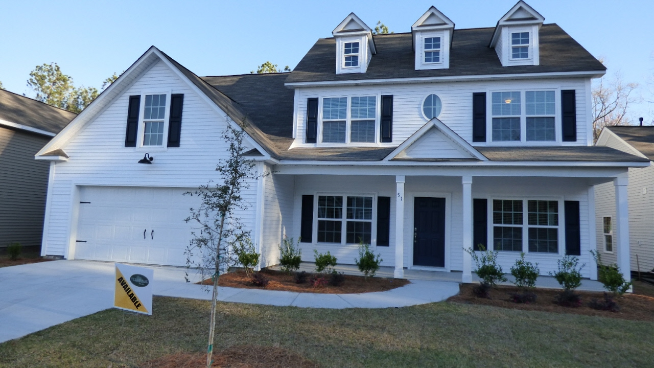 New Wylie Model Home With Five Bedrooms In Alston Park Bluffton Sc By Village Homes